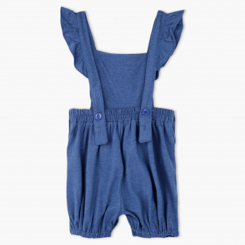 Juniors Pleated Dungaree