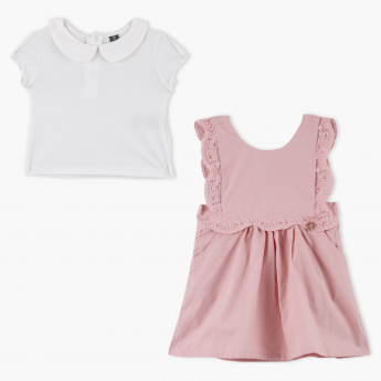Giggles T-Shirt and Jump Dress Set