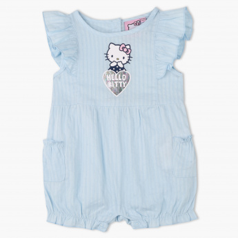 Hello Kitty Textured Romper