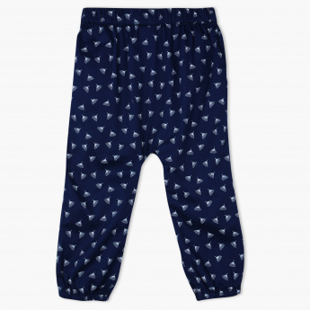 Juniors Printed Woven Pants