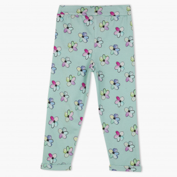 c8167891da3d3 Hello Kitty Printed Full Length Pants with Elasticised Waistband ...