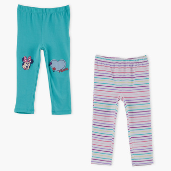 Minnie Mouse Full Length Leggings - Set of 2
