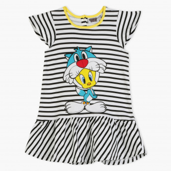 Tweety Printed Dress