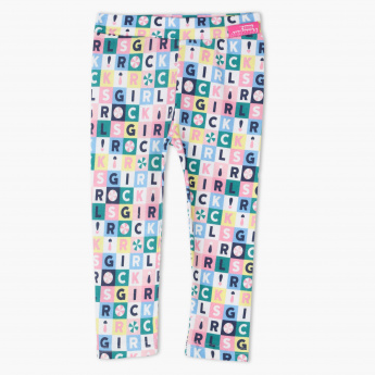 The Powerpuff Girls Printed Full Length Leggings