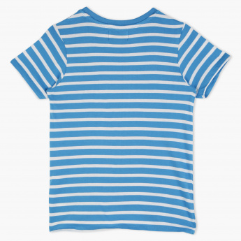 Lee Cooper Striped Crew Neck T-Shirt