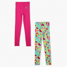 Barbie Full Length Leggings -  Set of 2