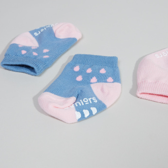 Juniors Infant 2-Piece Printed Ankle Length Socks