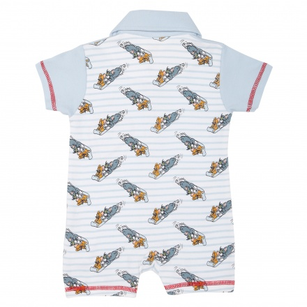 Tom and Jerry Printed Romper