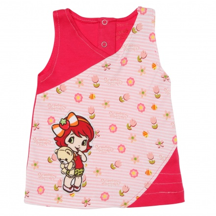 Strawberry Shortcake Printed Dress