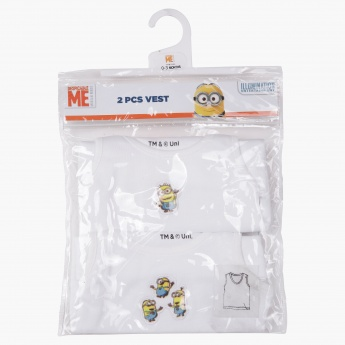 Despicable Me Sleeveless Vest - Set of 2