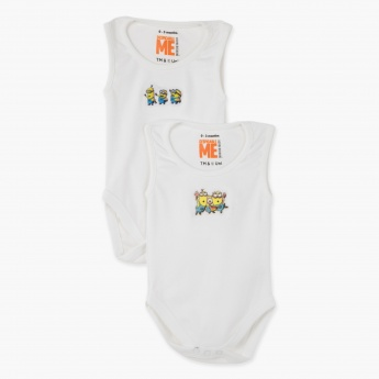 Despicable Me Sleeveless Bodysuit - Set of 2