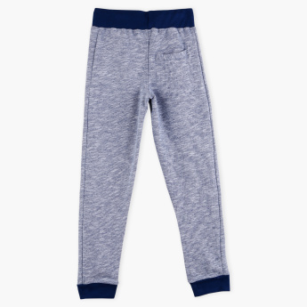 Juniors Printed Full Length Jog Pants with Elasticised Waistband