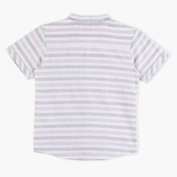 Eligo Striped Short Sleeves