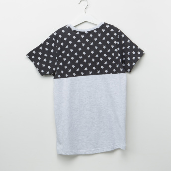 Donald Duck Printed Round Neck T-Shirt