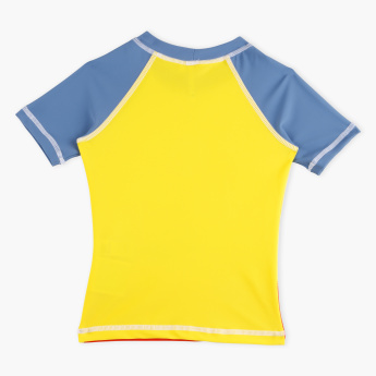 Juniors Printed Short Sleeves T-Shirt