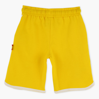 FIFA 18 Spain Embroidered Shorts with Elasticised Waistband