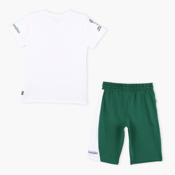 FIFA 18 Saudi Arabia Printed T-Shirt with Shorts
