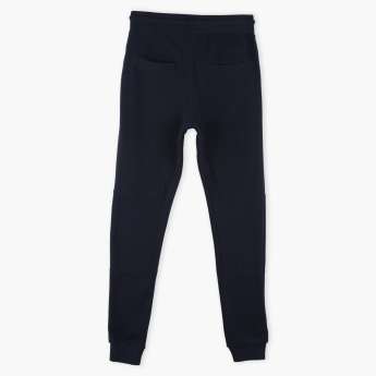 Posh Pocket Detail Jog Pants with Elasticised Waistband