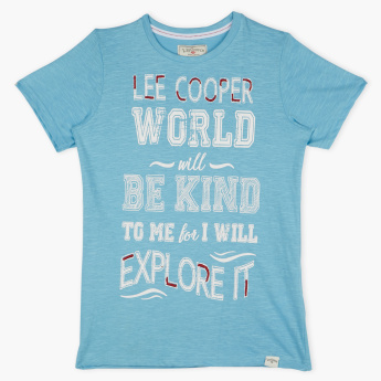 Lee Cooper Round Neck Short Sleeves T-Shirt