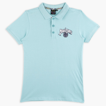 Maui and Sons Polo Neck T-Shirt