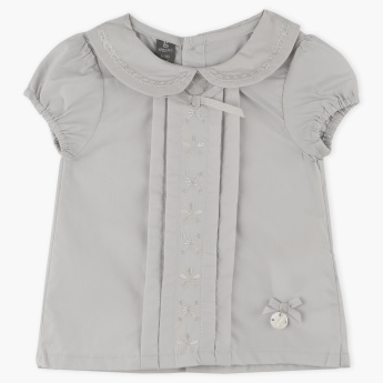 Giggles Embroidered Top
