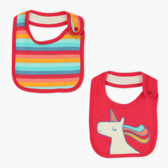 Juniors Printed Bib - Set of 2