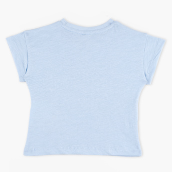Juniors Round Neck T-Shirt
