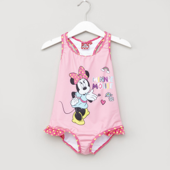 Minnie Mouse Printed Bathing Suit