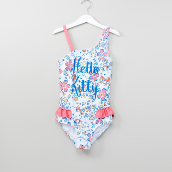 Hello Kitty Printed One-Piece Swimsuit