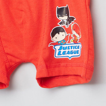 Justice League Printed Boxer Briefs - Set of 3