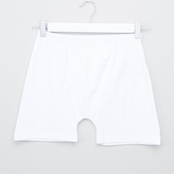 Juniors Boxer Briefs with Elasticised Waistband - Set of 5