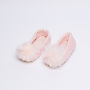 Juniors Fur Detail Booties