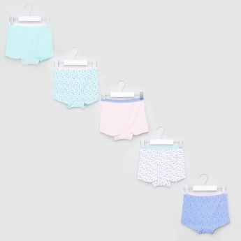 Juniors Assorted Boxer Briefs - Set of 5