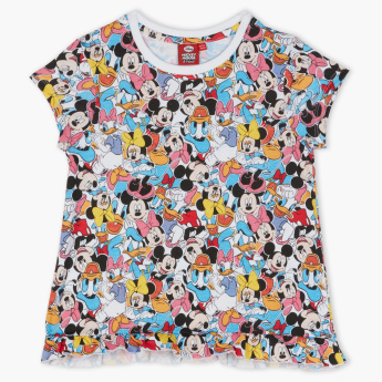 Minnie Mouse Printed T-Shirt