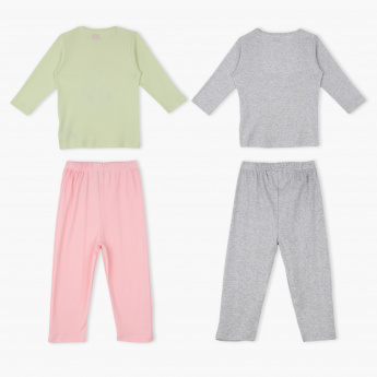 Fisher-Price Long Sleeves T-Shirt and Pyjamas - Set of 2