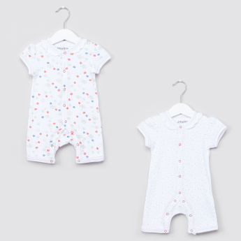 33292da0a3b7e Juniors Printed Romper - Set of 2