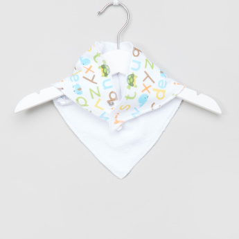 Juniors Printed Dribble Bib - Set of 2