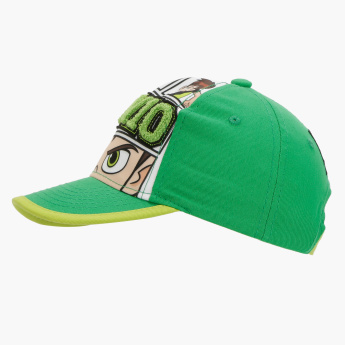 Ben 10 Printed Cap with Hook and Loop Closure