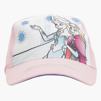 Frozen Printed Cap with Hook and Loop Closure