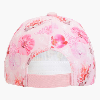 Princess Printed Hook and Loop Closure Cap