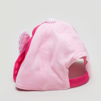 Juniors Mesh Cap with Ear Applique Detail