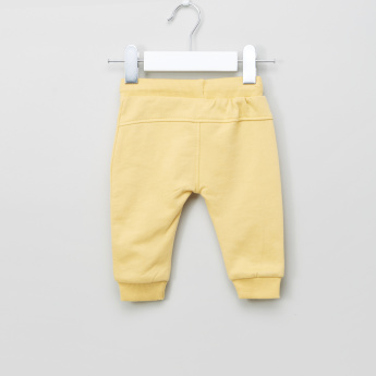 Juniors Kangaroo Pocket Detail Jog Pants with Drawstring - Set of 2