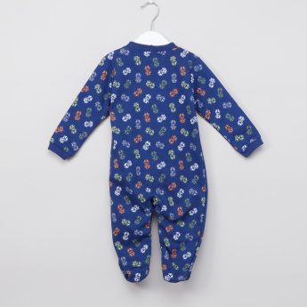 Juniors Printed Long Sleeves Sleepsuit - Set of 2