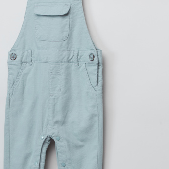 Giggles Full Length Pocket Detail Dungarees