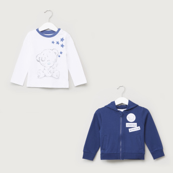 Carte Blanche T-Shirt and Jacket Set