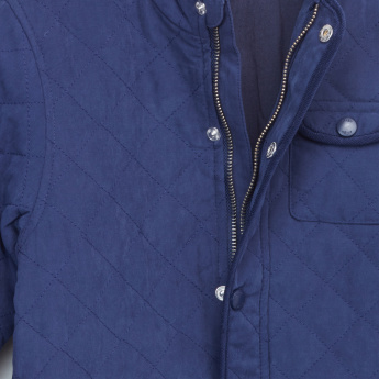 Eligo Quilted Long Sleeves Jacket