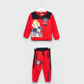 Fireman Sam Sweat Top And Joggers Set