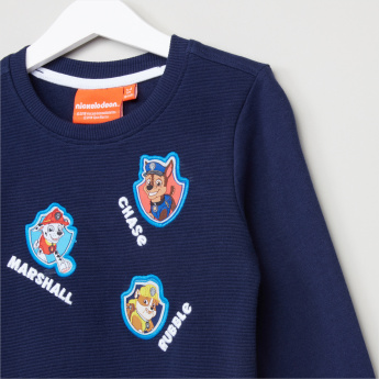 PAW Patrol Embroidered Applique Detail Pullover with Jog Pants