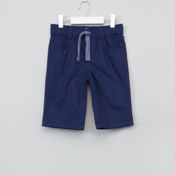 Juniors Shorts with Drawstring and Pocket Detail