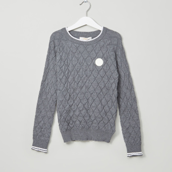 Eligo Quilted Sweater